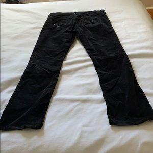 "AG Adriano Goldschmied Velvet Jeans ""The Kiss"""